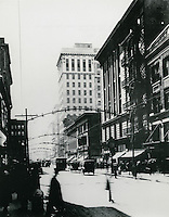 c. 1922..Historical...201 Granby Street Building.Royster Building.Looking South on Granby Street from Market Street..From the collection of Carroll Walker...NEG#.NRHA#..