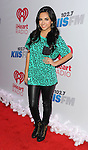 Becky G attends the 'KIIS FM Jingle Ball 2013', held at the Staple Center Los Angeles, Ca. December 6, 2013