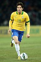 GENEBRA, SUICA, 21 DE MARCO DE 2013 - Kaka jogador da Selacao brasileira durante partida amistosa contra a Itália, disputada em Genebra, na Suíça, nesta quinta-feira, 21. O jogo terminou 2 a 2. FOTO: PIXATHLON / BRAZIL PHOTO PRESS