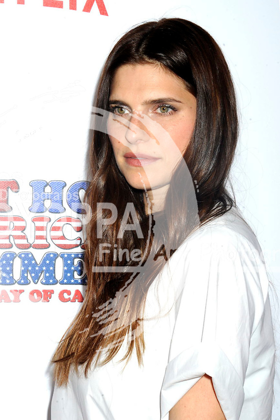 Lake Bell attending  the 'Wet Hot American Summer: First Day of Camp' Netflix series premiere at SVA Theater on July 22, 2015 in New York City