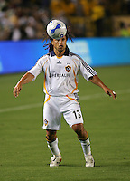 LA Galaxy midfielder Cobi Jones (13). CD Chivas USA defeated the LA Galaxy 3-0 in the Super Classico MLS match at the Home Depot Center in Carson, California, Thursday, August 23, 2007.