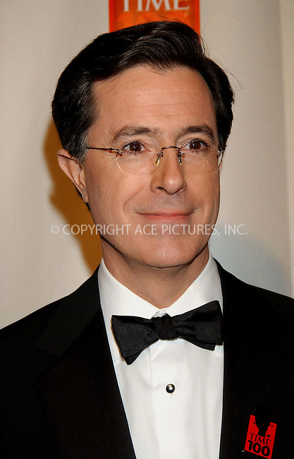 WWW.ACEPIXS.COM . . . . . ....NEW YORK, MAY 8, 2006....Stephen Colbert at Time Magazine's 100 Most Influential People 2006.....Please byline: KRISTIN CALLAHAN - ACEPIXS.COM.. . . . . . ..Ace Pictures, Inc:  ..(212) 243-8787 or (646) 679 0430..e-mail: picturedesk@acepixs.com..web: http://www.acepixs.com