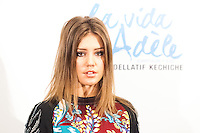 "Adèle Exarchopoulos  attending the opening ""La vie d'Adèle"" in Madrid."
