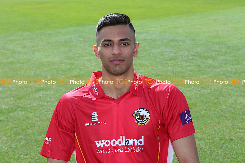 Feroze Khushi of Essex in Royal London Cup kit during the Essex CCC Press Day at The Cloudfm County Ground on 5th April 2017