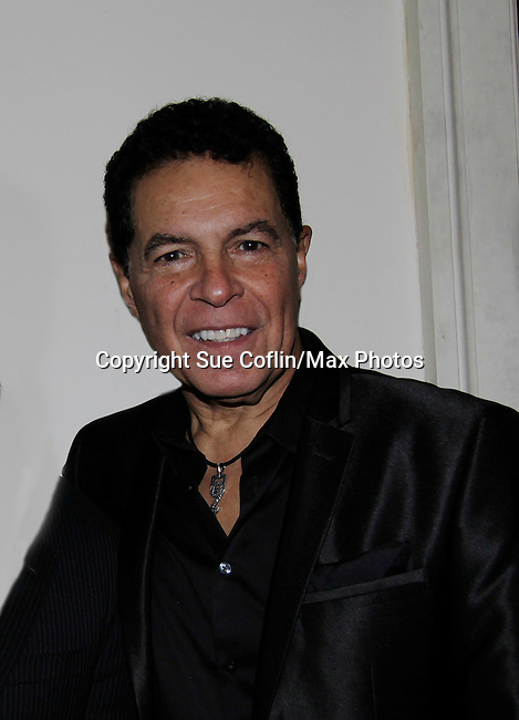 A night of entertainment by Clint Holmes (Las Vegas entertainer) at the Cafe Carlyle, New York City. (Photo by Sue Coflin/Max Photos)