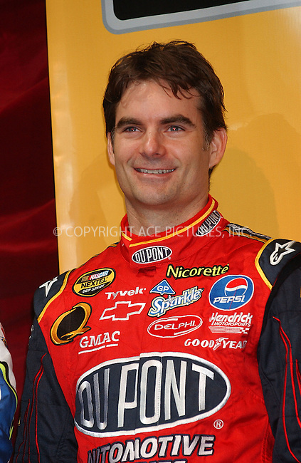 WWW.ACEPIXS.COM . . . . . ....November 28 2007, New York City....Driver Jeff Gordon attending the 2007 NASCAR Nextel Cup victory lap and breakfast at Hard Rock Cafe in Manhattan....Please byline: KRISTIN CALLAHAN - ACEPIXS.COM.. . . . . . ..Ace Pictures, Inc:  ..(646) 769 0430..e-mail: info@acepixs.com..web: http://www.acepixs.com