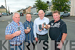 Rathmore Community Alert are calling on everyone to sign up to a new text alert system to ensure the safefy of local residents. .L-R Tim Dennehy (Secretary), Tim Herlihy (PRO), Frank Buckley (Treasurer) and Mike Fitzgerald.