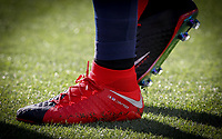 Santa Clara, CA - Wednesday July 26, 2017: Clint Dempsey new NIKE boots during the 2017 Gold Cup Final Championship match between the men's national teams of the United States (USA) and Jamaica (JAM) at Levi's Stadium.