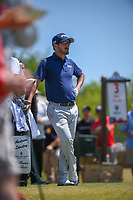 Andrew Landry (USA) looks over his tee shot on 3 during Round 4 of the Valero Texas Open, AT&amp;T Oaks Course, TPC San Antonio, San Antonio, Texas, USA. 4/22/2018.<br /> Picture: Golffile | Ken Murray<br /> <br /> <br /> All photo usage must carry mandatory copyright credit (&copy; Golffile | Ken Murray)