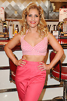 "Heidi Range at the photocall for ""Happy Days The Musical"" at Ed's Easy Diner, Trocadero, London. 08/01/2014 Picture by: Steve Vas / Featureflash"