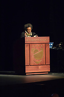 "Claudia Rankine visits Emerson College to discuss ""Whiteness""."