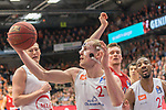 10.03.2019, RASTA Dome 2.0, VECHTA, GER, easycredit-bbl, RASTA Vechta vs  FC Bayern M&uuml;nchen, im Bild<br /> Seth Hinrichs (USA) (Rasta Vechta #21)<br /> Austin Hollins (USA) (Rasta Vechta #20)<br /> <br /> <br /> Foto &copy; nordphoto / Kokenge