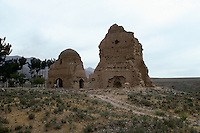 The mausoleum of Chesht e Sharif on the road to the Menar e Jam in the Ghor province - Afghanistan. .From western Afghan capital Herat to the former capital of the Ghorides Empire Fîrûzkôh, next to the Menar e Jam..-The full text reportage is available on request in Word format