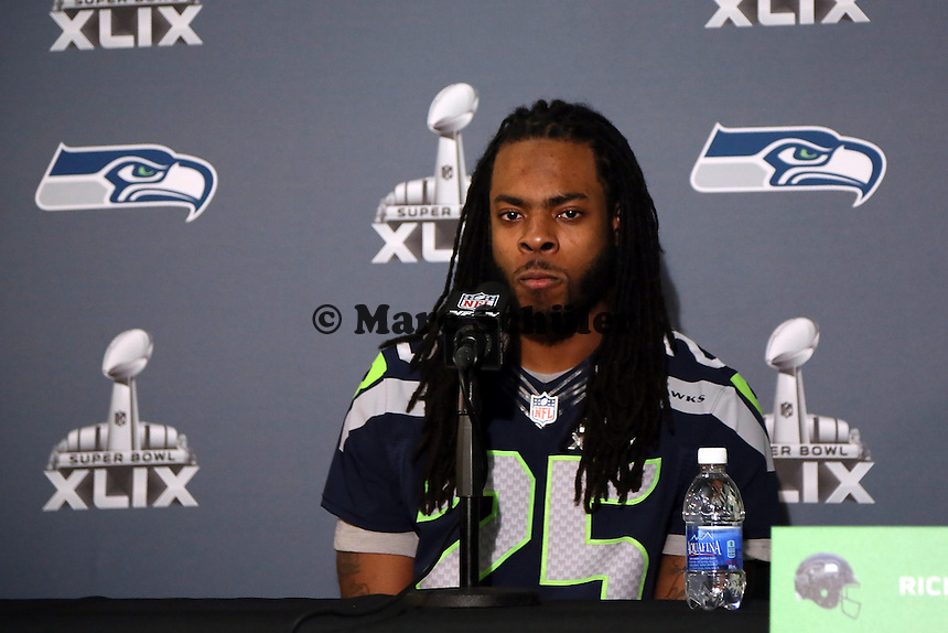 CB Richard Sherman (Seahawks)- Super Bowl XLIX Seattle Seahakws Team-PK, Arizona Grand Hotel