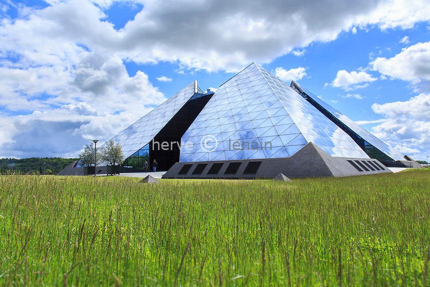France, Cher (18), Saint-Amand-Montrond, cité de l' Or // France, Cher, Berry region, Saint Amand Montrond, cite de l' Or (city of gold)