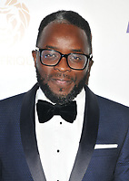 Femi Oyeniran at the Lux Afrique gala dinner, Claridge's Hotel, Brook Street, London, England, UK, on Sunday 01 October 2017.<br /> CAP/CAN<br /> &copy;CAN/Capital Pictures