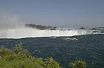 Niagara Falls, Ontario, Canada - 01 August 2006---The Niagara River falling horseshoe-wise / Horseshoe Falls---nature---Photo: © HorstWagner.eu