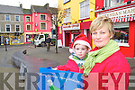 SMILES: David and Ann Harris stop for a picture while shopping in Listowel at the weekend.   Copyright Kerry's Eye 2008