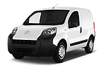 2017 Citroen Nemo Business 4 Door Car van angular front stock photos of front three quarter view