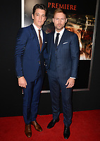 Miles Teller &amp; Scott Haze at the premiere for &quot;Thank You For Your Service&quot; at the Regal LA Live Theatre. Los Angeles, USA 23 October  2017<br /> Picture: Paul Smith/Featureflash/SilverHub 0208 004 5359 sales@silverhubmedia.com