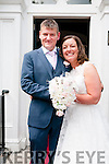 Caroline O'Connor, daughter of Dan & Betty O'Connor, Toyurnafulla & Sean Murphy, Buttevant, Co. Cork who were married in a civil ceremony in the Listowel Arms Hotel on Thursday last. Witnesses were Michael murphy & Emer O' Connor.