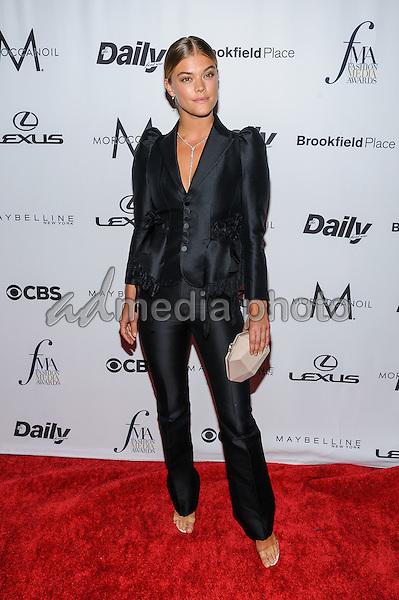 08 September 2016 - New York, New York- Nina Agdal. Daily Front Row's Fourth Annual Fashion Media Awards. Photo Credit: Mario Santoro/AdMedia