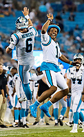 Photography coverage of the Carolina Panthers v. The Buffalo Bills during their NFL preseason game at Bank of America Stadium in Charlotte, North Carolina.<br /> <br /> Charlotte Photographer - PatrckSchneiderPhoto.com