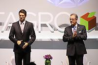 SÃO PAULO, SP, 28.10.2019 - ECONOMIA-SP - Os Ministros Ricardo Salles (Meio Ambiente) e Bento Albuquerque (Minas e Energia), participam da 19a Conferência Internacional Datagro sobre Açúcar e Etanol, no Hotel Grand Hyatt, Zona Sul de São Paulo, nesta segunda-feira, 28. (Foto Charles Sholl/Brazil Photo Press/Folhapress)