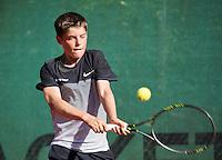 Hilversum, Netherlands, August 10, 2016, National Junior Championships, NJK, Jens Hoogendam (NED)<br /> Photo: Tennisimages/Henk Koster