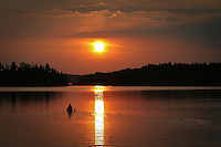 """Paddling into the Sunset""<br />