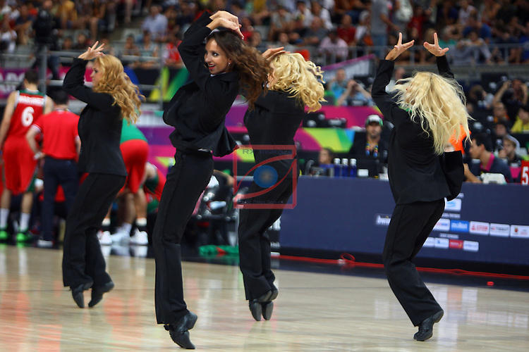 2014 FIBA Basketball World Cup-Round of 16.<br /> USA vs Mexico: 86-63.<br /> Khimki Dancers.