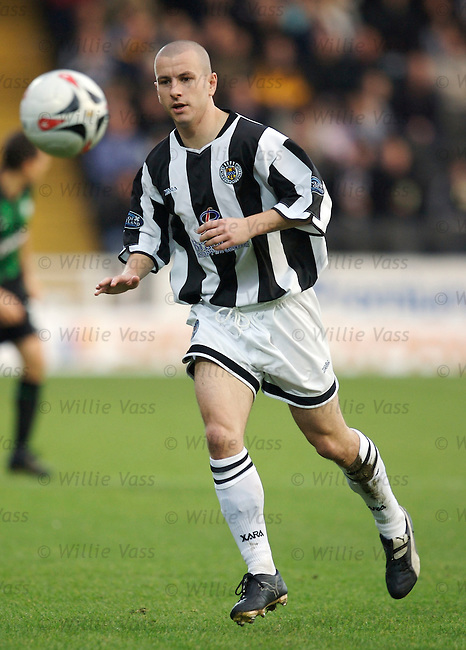 Alan Reid, St Mirren.stock season 2006-2007.pic willie vass