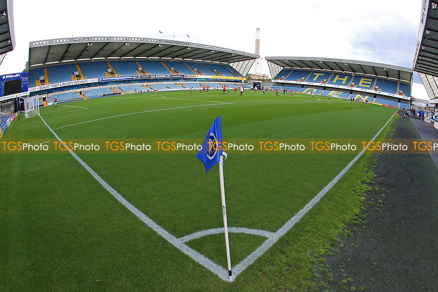 General view of the ground during Millwall Lionesses vs Sheffield FC Ladies, FA Women's Super League FA WSL2 Football at The Den on 9th October 2016