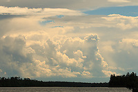"""Storms over Basswood Lake"" <br />