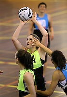 16.09.2016 Silver Ferns Te Paea Selby-Rickit in action during traning ahead of the last Taini Jamison netball match between the Silver Ferns and Jamaica to be played in Rotorua. Mandatory Photo Credit ©Michael Bradley.