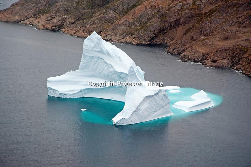 Iceberg in Ammassalik Fjord