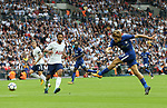 Chelsea's Marcos Alonso scoring his second goal during the premier league match at the Wembley Stadium, London. Picture date 20th August 2017. Picture credit should read: David Klein/Sportimage