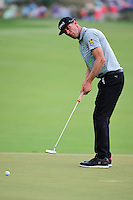 Graham DeLaet (CAN) watches his putt on 2 during round 3 of the Honda Classic, PGA National, Palm Beach Gardens, West Palm Beach, Florida, USA. 2/25/2017.<br /> Picture: Golffile | Ken Murray<br /> <br /> <br /> All photo usage must carry mandatory copyright credit (&copy; Golffile | Ken Murray)