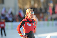 SCHAATSEN: BOEDAPEST: Essent ISU European Championships, 07-01-2012, 1500m Ladies, Claudia Pechstein GER, ©foto Martin de Jong