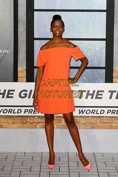 LONDON, ENGLAND - SEPTEMBER 20: Oti Mabuse attending 'The Girl On The Train' World Premiere at Odeon Cinema, Leicester Square on September 20, 2016 in London, England.<br /> CAP/MAR<br /> &copy;MAR/Capital Pictures