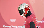 Barrett Martineau (CAN). Skeleton training. Alpensia sliding centrePyeongchang2018 winter Olympics. Alpensia. Republic of Korea. 13/02/2018. ~ MANDATORY CREDIT Garry Bowden/SIPPA - NO UNAUTHORISED USE - +44 7837 394578