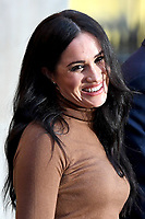 07/01/2020 - Meghan Duchess of Sussex Markle during a visit to Canada House, in London, in thanks for the warm Canadian hospitality and support they received during their recent stay in Canada. Photo Credit: ALPR/AdMedia