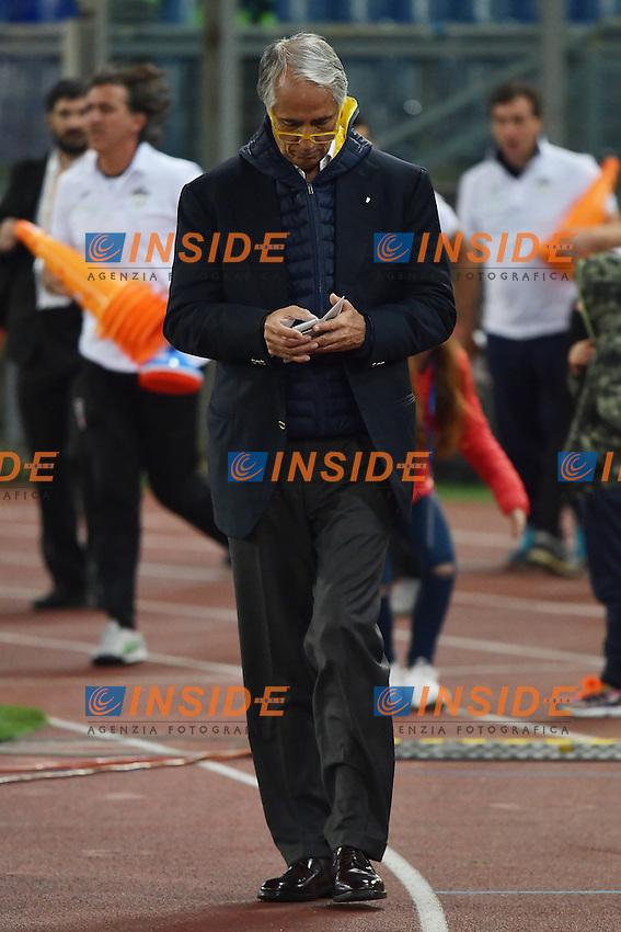 Giovanni Malago' <br /> Roma 12-10-2016 Stadio Olimpico <br /> Incontro di calcio benefico Uniti per la Pace <br /> Charity football match United for Peace . Foto Andrea Staccioli / Insidefoto