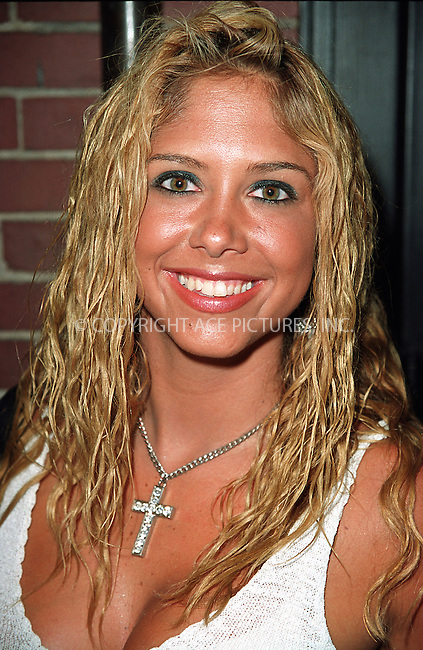 Singer Samantha Cole attending a party celebration of the first anniversary of his club Man Ray. New York, July 10, 2002. Please byline: Alecsey Boldeskul/NY Photo Press.   ..*PAY-PER-USE*      ....NY Photo Press:  ..phone (646) 267-6913;   ..e-mail: info@nyphotopress.com