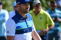 Sergio Garcia (ESP) after chipping on 2 during round 3 of the Honda Classic, PGA National, Palm Beach Gardens, West Palm Beach, Florida, USA. 2/25/2017.<br /> Picture: Golffile | Ken Murray<br /> <br /> <br /> All photo usage must carry mandatory copyright credit (&copy; Golffile | Ken Murray)