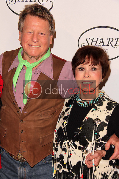 Ryan O'Neal, Neile McQueen<br />