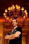 "Portrait session with Team Pokerstars Pro Bertand ""ElkY"" Grospellier."