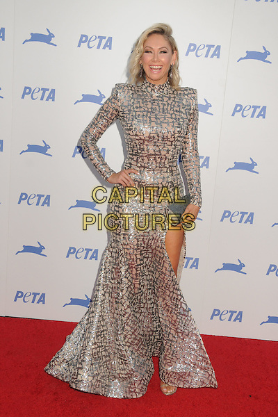 30 September 2015 - Hollywood, California - Kym Johnson. PETA 35th Anniversary Gala held at the Hollywood Palladium. <br /> CAP/ADM/BP<br /> &copy;BP/ADM/Capital Pictures