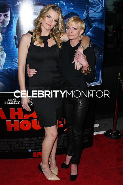 """LOS ANGELES, CA, USA - APRIL 16: Missi Pyle, Jaime Pressly at the Los Angeles Premiere Of Open Road Films' """"A Haunted House 2"""" held at Regal Cinemas L.A. Live on April 16, 2014 in Los Angeles, California, United States. (Photo by Xavier Collin/Celebrity Monitor)"""