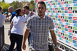 Spanish player Koke Resurrecccion arrives to concentration of Spanish football team at Ciudad del Futbol de Las Rozas before the qualifying for the Russia world cup in 2017 August 29, 2016. (ALTERPHOTOS/Rodrigo Jimenez)